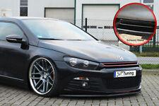 Spoilerschwert Frontspoiler Lippe ABS fürVW Scirocco 3 mit ABE schwarz Glanz