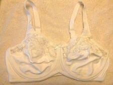 2f53de336756c Lilyette Style   428 Comfort Lace Underwire Minimizer Bra Sz 36D White  (79)28