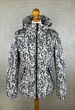 TAIFUN Damen Gr. 36 Winterjacke Jacke Animal Leo Look schwarz weiß Jacket #310
