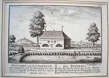 Murten Gamba Casa ossa-Borgogna SVIZZERA RAME chiave di herrliberger 1755