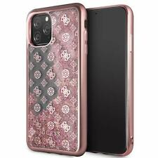 """Case Glitter Guess Cover Glitter 4G Peony Apple IPHONE 11 pro Max 6.5 """""""