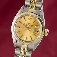 Rolex Lady Date Stahl / Gold Automatik Damenuhr Oyster Perpetual Ref. 6916