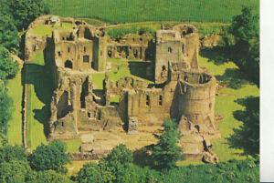 Herefordshire Postcard - Aerial View of Goodrich Castle - Ref TZ5813