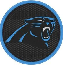 """Carolina Panthers Nfl Pro Football 7""""  Banquet Paper Plates Pack Of 18 By Amscan"""