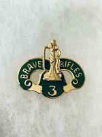 Authentic US Army 3rd Cavalry Regiment DI DUI Unit Crest Insignia G23