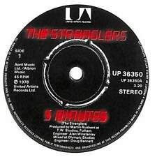 "The Stranglers - 5 Minutes - 7"" Record Single"