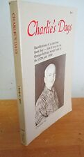 CHARLIE'S DAYS, Orange-Sullivan County NY by Charlie Crist, Signed 1983 1st Ed