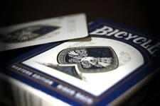 Carte da gioco BICYCLE MASTERS dorso blu poker size by Ellusionist playing cards