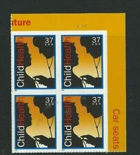 US #3938  37 cent Child Health Plate # block of 4 Mint NH