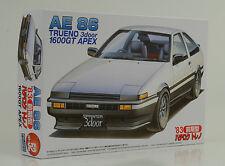 TOYOTA ae86 Trueno 1600 GT Apex KIT KIT 1:24 FUJIMI id-52