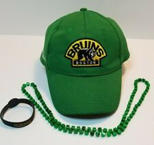 Boston Bruins St Patricks Day NHL Hockey Hat  Irish Cap Green Collectable Lucky