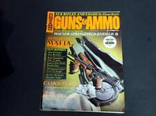 VINTAGE OCTOBER 1971 GUNS & AMMO MAGAZINE FIREARMS - GUNS OF THE MAFIA  *G-COND*