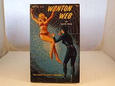 Wanton Web by Dave King Sleaze GGA Vintage Paperback