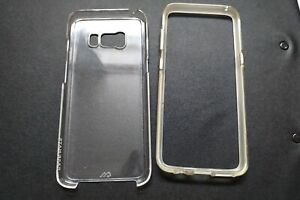 Used Case-Mate CM035462 Clear Naked Tough Case for Samsung Galaxy S8