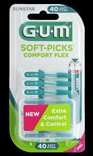 GUM Soft Picks Comfort Flex Large 40 St. Interdentalbürsten Zahnzwischenraumbe