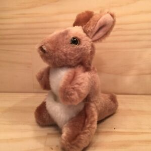 "OZZIE THE KANGAROO ""Brown"" Gorgeous Mini Animal Soft Toy Cuddly Stuffed Friend"