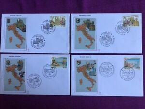 ITALIA 2007 BUSTA PRIMO GIORNO REGIONI D'ITALIA