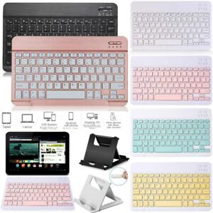 """For Huawei MediaPad T3 10 9.6"""" & T5 10.1"""" Tablet Bluetooth Keyboard+Stand Holder"""