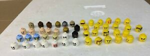 LEGO MINIFIG HEADS LOT OF 50