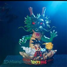 Dragon Ball Z DRAGON BALL SHENRON y niño resina estatua pintada Son Goku modelo de pre-venta