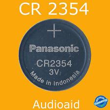 2pc Panasonic CR2354 2354 BR2354 ECR2354 Coin Cell Battery 3V GENUINE