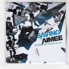 (FW465) Saving Aimee, We're The Good Guys sampler - 2009 DJ CD
