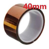 DZ938* 40mm 100ft Kapton Tape BGA High Temperature Heat Resistant Polyimide Gold