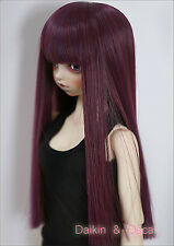 8-9 Jouets Cheveux Perruque Dal Pullip BJD SD LUTS DZ DOD dollfie Doll RED wig