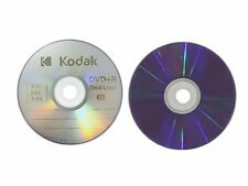 10 Kodak 8X Logo Top Blank DVD+R DL Dual Layer Disc 8.5GB with Paper Sleeves