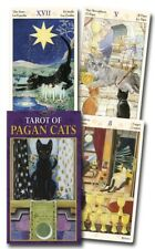 Tarot of Pagan Cats Mini Version New Sealed 78 Color Cards M. Messina L. Airghi