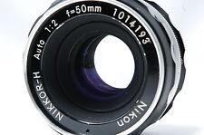 Nikon NIKKOR-H Auto 50mm F2 Non-AiLens SN1014193