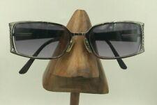 Vintage Norma Kamali 7547 Gunmetal Rectangle Sunglasses Eyeglasses Frames