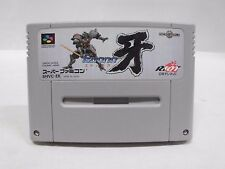 SNES -- EDONO KIBA -- Super famicom. Japan game. Work fully. 13291