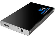 Kingwin 2.5in SATA HDD USB 3.0 External Enclosure ( KH-201U3-BK)