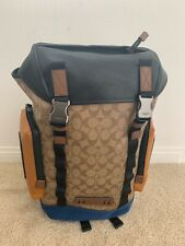 NWT COACH Ranger In Signature Canvas With Mountaineering Detail MSRP $650
