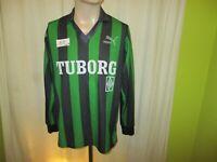 "Borussia Mönchengladbach Original Puma Langarm Trikot 1991/92 ""TUBORG"" Gr.M"