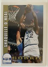 1992-93 NBA Hoops Shaquille O'Neal Rookie RC #442
