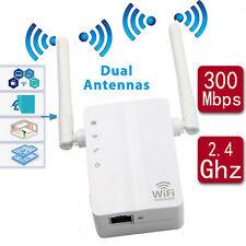 300 Mbps Wireless Range Extender WLAN Repeater Signal Booster Netzwerk Router