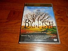 Big Fish: Ewan McGregor (Dvd, 2004 ] Brand New: Y-Folded Sealed + I Ship Faster