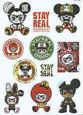 "Sticker-Set - 11 Aufkleber ""Anime Comic Mix"" - Laptop - Stickerbomb - (M008)"