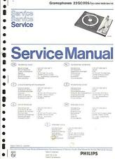 Philips Original Service Manual Phono 22 GC 005
