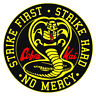 Cobra Kai Full Color bumper sticker vinyl decal Karate Kid Made IN USA 3 INCH