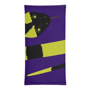 Neck Gaiter - Purple Snake