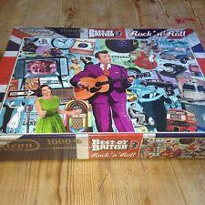 Falcon Deluxe Best of British 3 Puzzle 1000 pezzi Rock N Roll Grande Regalo