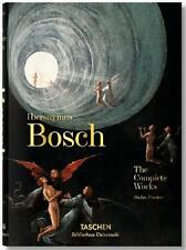 HIERONYMUS BOSCH ~ COMPLETE WORKS ~ TASCHEN ~ PROFUSELY ILLUSTRATED ~ NEW HC