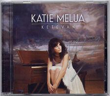 KATIE MELUA Ketevan signed/autographed CD + CofA