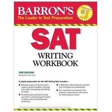 Barron's SAT Writing Workbook, 3rd Edition by George Ehrenhaft Ed. D. (2012,...