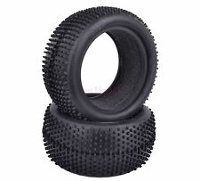 2PCS 85*40mm Rear Foam Rubber Tyre Tires RC 1:10 Off-Road Buggy Car 06025 7010R