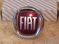 FREGIO POSTERIORE FIAT NUOVA BRAVO PUSH 95mm ORIGINALE stemma rear badge escudo