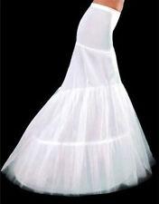 Reifrock 2 Ringe weiß Brautkleid Tüllrock Unterrock Petticoat Mermaid Krinoline